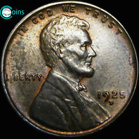 1925-D LINCOLN CENT WHEAT CENT  A456