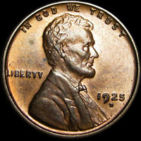 1925-D LINCOLN CENT WHEAT CENT ---- STUNNING DETAILS ---- B971