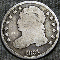 1831 CAPPED BUST DIME 10C             K791