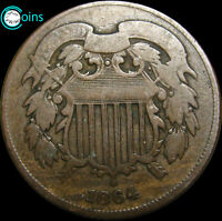 1864 TWO CENT PIECE 2CP TYPE COIN ----- I REVIEW ALL OFFERS  ----- V042