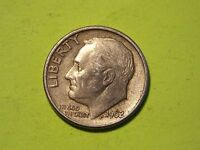 1962 D  US ROOSEVELT DIME   90 SILVER   BUSINESS CIRCULATED          MM67