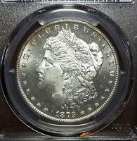 1879-S MORGAN SILVER DOLLAR PCGS MINT STATE 65 PROOF LIKE LUSTER