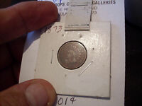 1873 INDIAN HEAD CENT   F