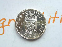 1970 ROYAL MINT PROOF ONE SHILLING SCOTTISH LAST YEAR OF ISSUE COIN HUNT
