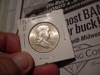 1962 D FRANKLIN HALF  MINT STATE