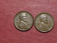 1930 S ,  1930 D  LINCOLN CENTS  BOTH  AU COINS