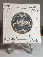 1999 S NEW JERSEY STATE WASHINGTON SILVER QUARTER GEM PROOF PRICED TO SELL