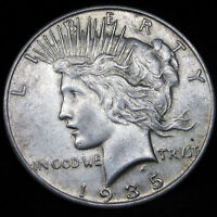 1935 S PEACE DOLLAR SILVER      PART OF A FULL SET MAKE AN OFFER     X109