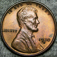1930-S LINCOLN CENT WHEAT CENT ---- STUNNING  ---- B701