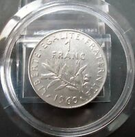 FRANCE 1 FRANC COIN DATED 1960