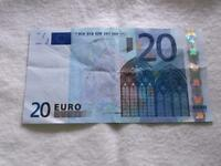 FRANCE FIRST 20 EURO E001B3 DUISEMBERG SIGN  BANKNOTE   A1741