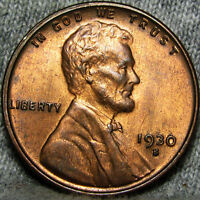 1930-S LINCOLN CENT WHEAT CENT ---- STUNNING  ---- B697