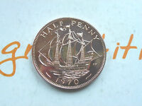 1970 ROYAL MINT PROOF HALF PENNY   LAST YEAR OF ISSUE COIN HUNT
