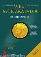 2007 GERMAN WORLD COIN CATALOGUE 1900 2006 BY GNTER & GERHARD SCHN ,2000PAGES