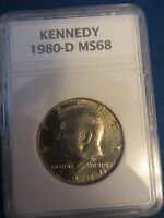 1980 D KENNEDY HALF DOLLAR 50 CENT COIN DENVER MINT MS