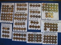 LINCOLN WHEAT CENT OVERSTOCK SALE BAG24 1909 1911 1918 1919 1920S 1930S 3ROLLS