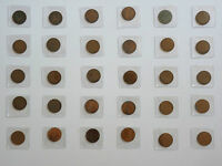 COLLECTION OF BRITISH AND FOREIGN COINS CIRCA 1790   1981 GOOD TO FINE
