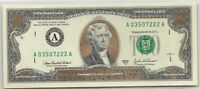 GOLD COLORED OBVERSE $2 BILL DECLARATION OF INDEPENDENCE 1776 REVERSE