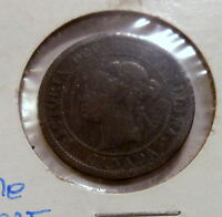 1876 H LARGE CENT FROM CANADA HEATON MINT CIRCULATED CONDITION YOU GRADE
