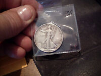 1940-S WALKING LIBERTY HALF  VF