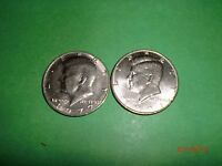 USA  2  KENNEDY HALF DOLLAR  COINS  1977P & 1991D2MIXED LOTM2