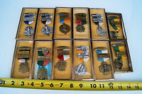 SHOOTER COMPETITION MEDALS EAST TENNESSEE NRA LOT OF 12 1950S & 1960S