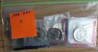 1993 WASHINGTON  QUARTER 20 COIN LOT CELLO P AND D FROM US MINT UNCIRCULATED SET