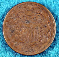 1864 ESTATE FIND  TWO CENT PIECE   C6986
