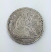 1859 O 50C SEATED LIBERTY HALF