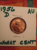 1956 D LINCOLN WHEAT CENT US CENT   BUY 6 GET 45 OFF