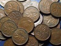 1949 CANADIAN SMALL CENTS KING GEORGE VI        BUY ONE OR BUY THEM ALL