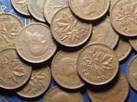 1951 CANADIAN SMALL CENTS KING GEORGE VI        BUY ONE OR BUY THEM ALL