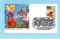 U.S. FDC 4471  SABRINA CURTIS CACHET DENNIS THE MENACE FROM SUNDAY FUNNIES