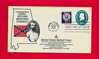 CONFEDERATE GENERAL NATHAN BEDFORD FORREST PROTECTED ALABAMA MASONIC FDC