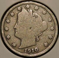 LIBERTY NICKEL - 1910 - $1 UNLIMITED SHIPPING