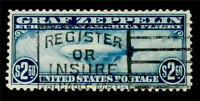NYSTAMPS US AIR MAIL STAMP  C15 USED $600
