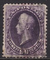 USA 1888 90C VIOLET PERRY, USED CAT 250