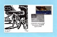 U.S. NON FDC -  DAVE CURTIS CACHET COMMEMORATING GRAND ARMY OF THE REPUBLIC