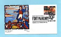 U.S. FDC 4921  CURTIS CACHET - BATTLE FT MCHENRY FROM THE WAR OF 1812 SET