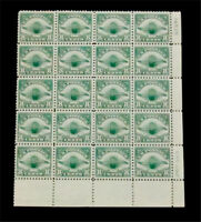 NYSTAMPS US AIR MAIL PLATE BLOCK STAMP  C4 MINT OG NH $890 P 20