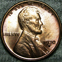 1930-S LINCOLN CENT WHEAT CENT ---- STUNNING ---- B547