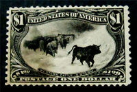 NYSTAMPS US STAMP  292 USED $700