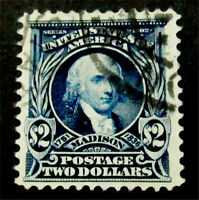 NYSTAMPS US STAMP  312 USED $225
