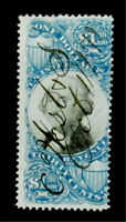 NYSTAMPS US REVENUE STAMP  R119 USED $600