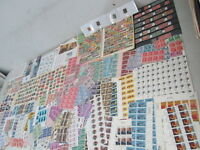 NYSTAMPS X LARGE MINT USED OLD US STAMP & PART SHEET COLLECTION