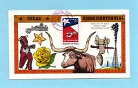 U.S. FDC 2204 COLLINS CACHET - 150TH ANNIVERSARY OF THE REPUBLIC OF TEXAS
