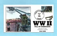 U.S. FDC 2697D COLLINS CACHET - CORREGIDOR FALLS TO THE JAPANESE - WWII SERIES