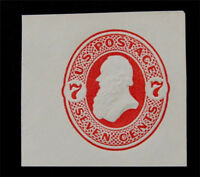 NYSTAMPS US CUT SQUARE STAMP  U88 MINT $60