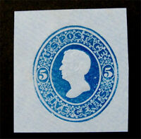 NYSTAMPS US CUT SQUARE STAMP  U175 MINT $35