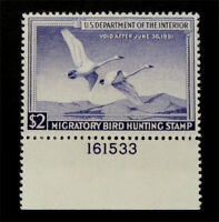 NYSTAMPS US DUCK STAMP  RW17 MINT OG H $90
